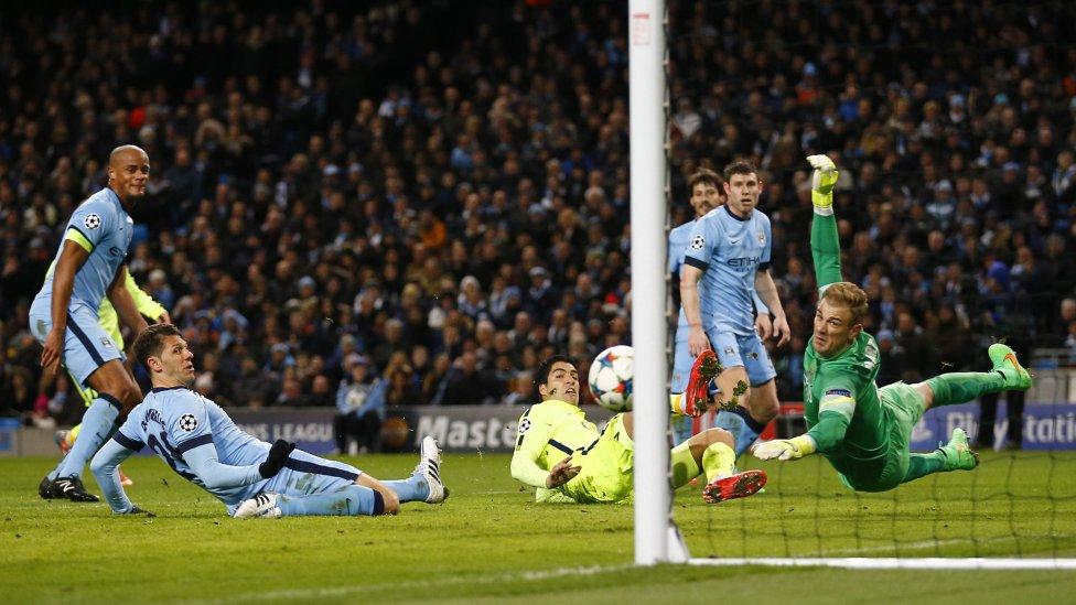 صور : مباراة مانشستر سيتي - برشلونة 1-2 ( 24-02-2015 )  1424809639_812275_1424810182_album_grande