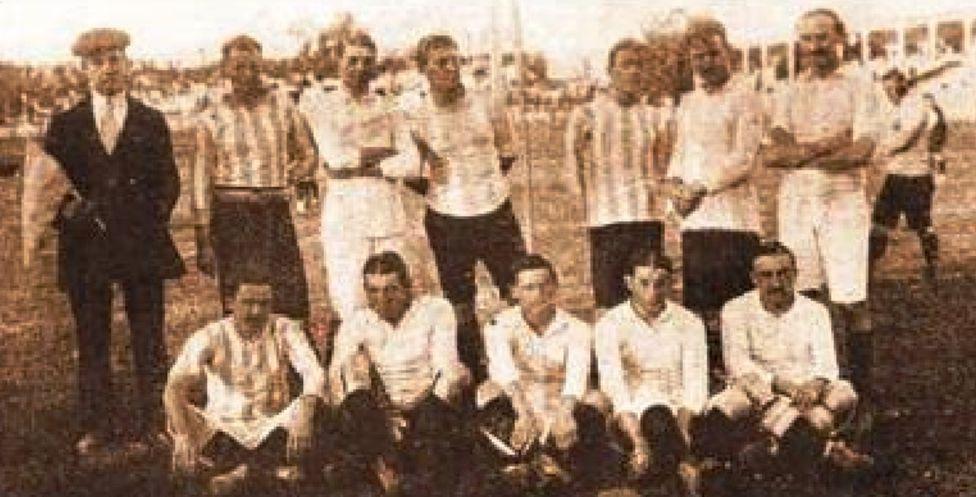A 105 años del debut de la Roja - AS Chile