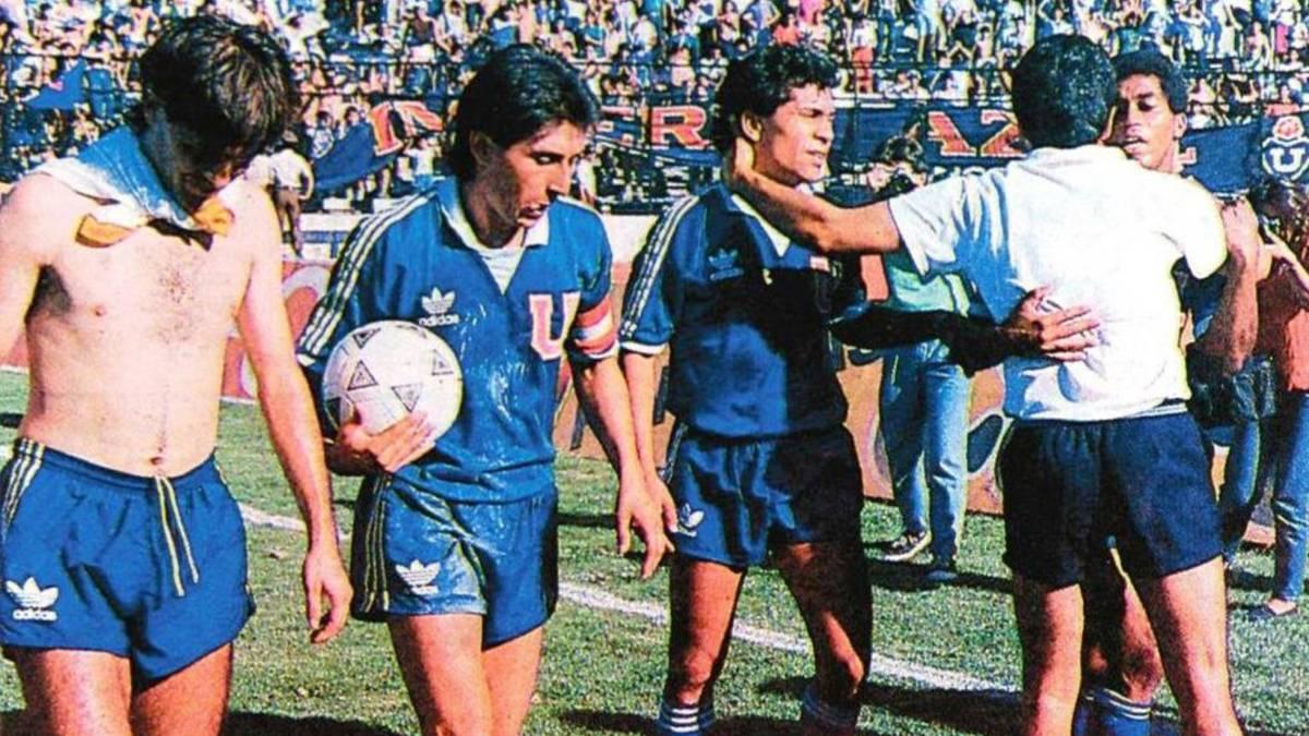 Descenso de la U  a 30 años del día más triste de Pellegrini - AS Chile 96c09255b7316