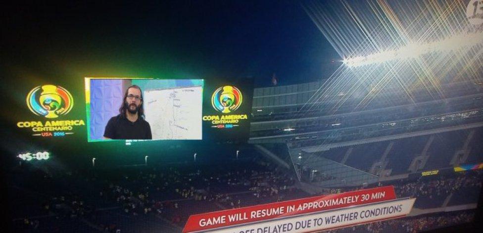 Los memes que dejó la tormenta en Chicago de la Copa América
