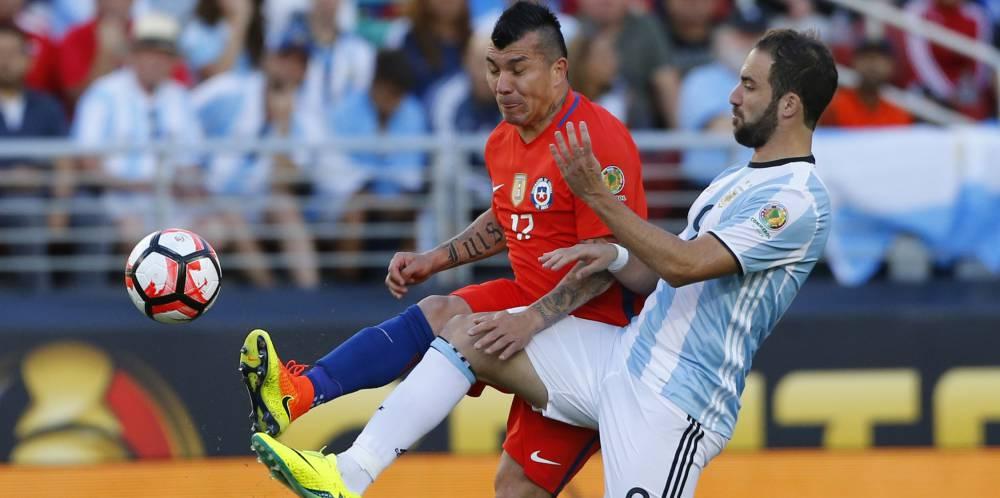 Argentina Vs Chile Final De La Copa