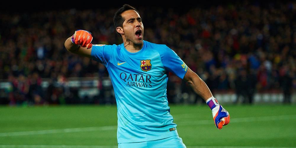 Los 8 títulos que Claudio Bravo conquistó en Barcelona - AS Chile