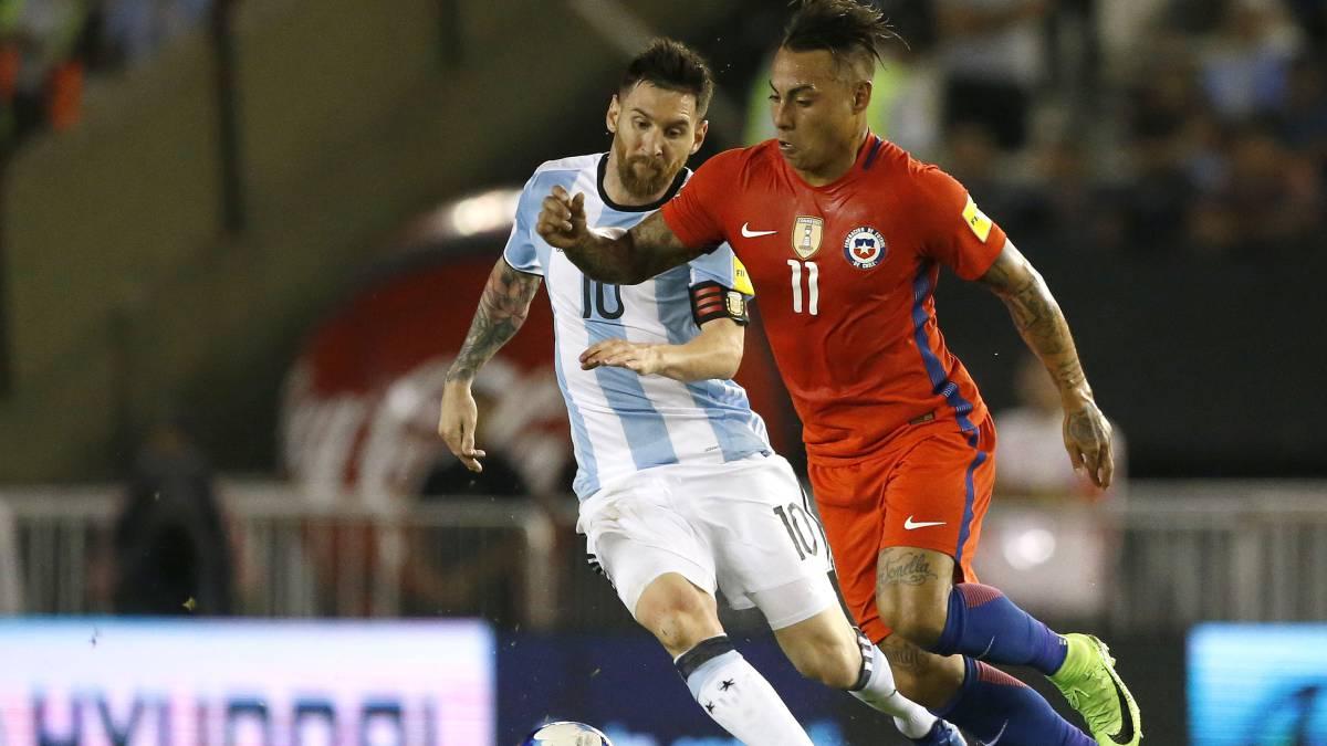 Argentina 1 0 Chile Resumen Resultado Y Goles Del Partido Eliminatorias Sudamericanas As Chile