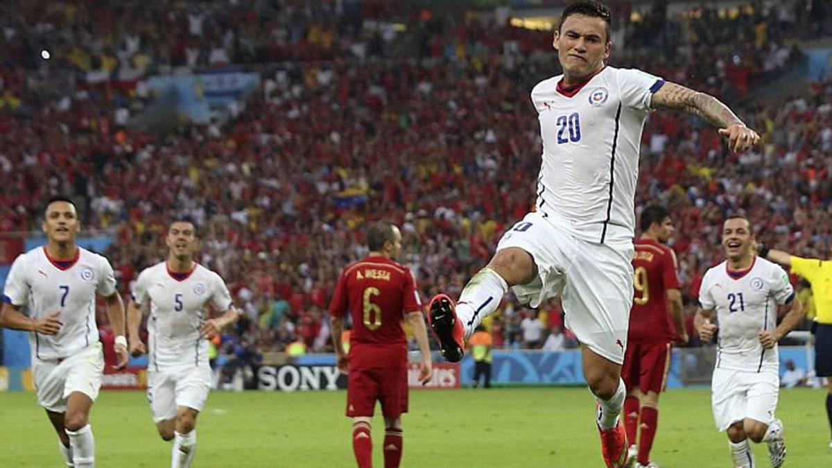 La Roja venció en 5 ocasiones al campeón mundial vigente - AS Chile