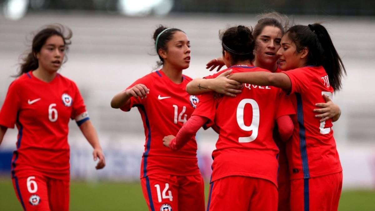 La Roja femenina Sub 20 goleó a Uruguay en la despedida - AS Chile