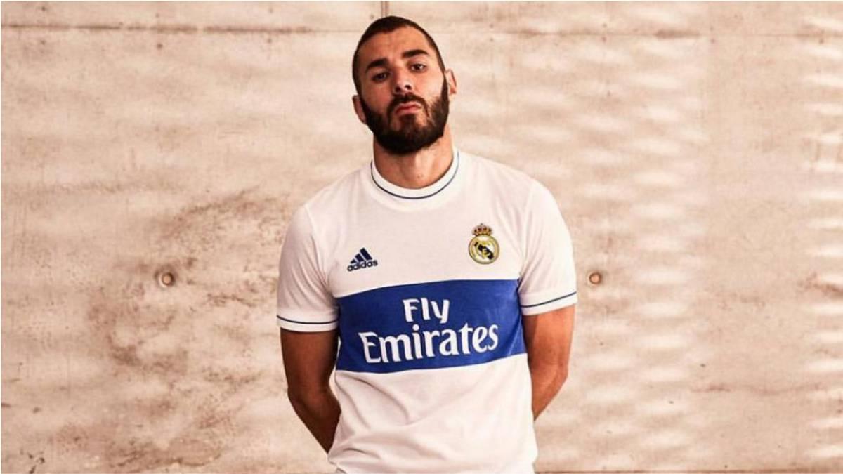 Como la UC  La llamativa nueva camiseta retro de Real Madrid - AS Chile ffd076a4b7f47