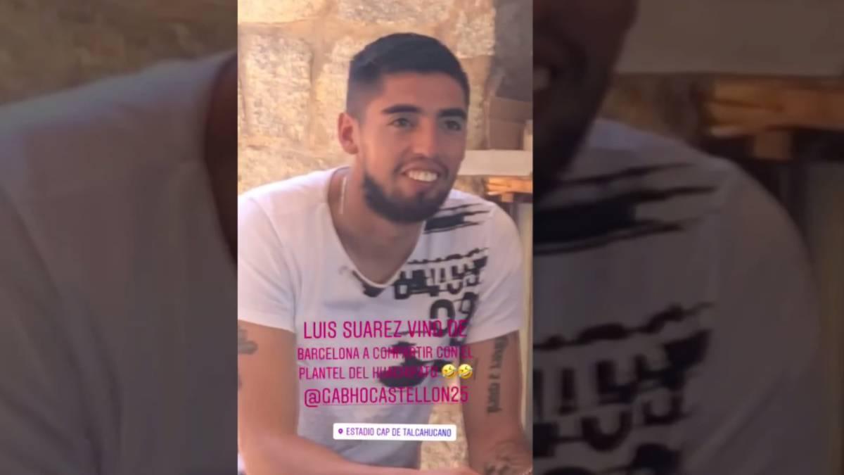 La broma imperdible a Gabriel Castellón  ¿doble de Luis Suárez  - AS ... fb04b0328f5