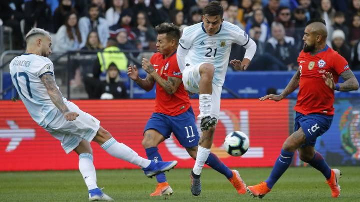 Chile 1 2 Argentina Copa América Resumen Goles Y Resultado As Chile