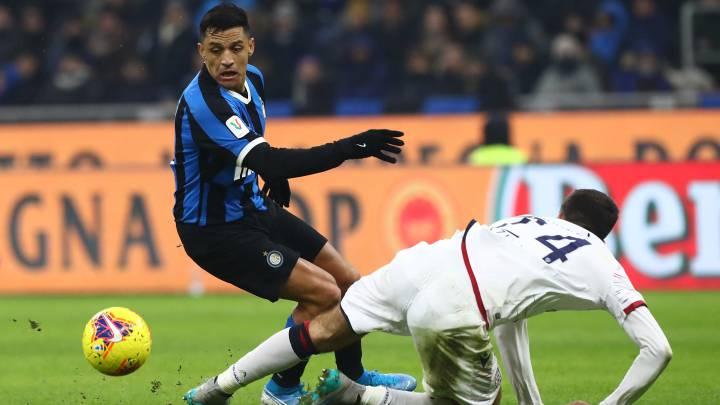 Inter 4-1 Cagliari: Alexis volvió a jugar y avanzó en Copa Italia - AS Chile